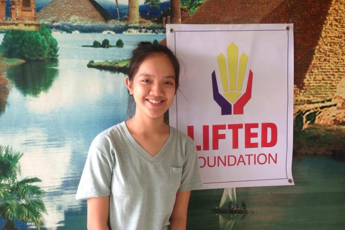 Elaissa Jimenez, 17 years old; St. Michael's Institute